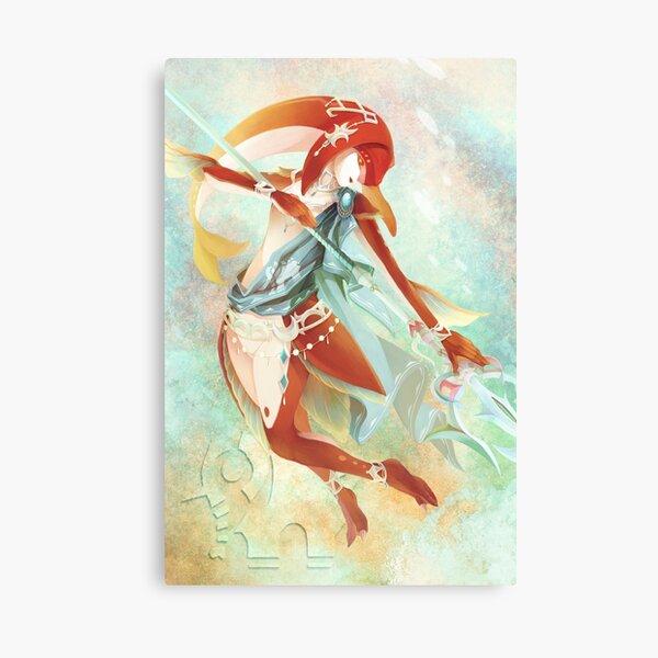 BotW: Mipha Canvas Print