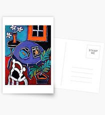 Erinnerung an Matisse Postkarten