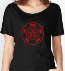 Mandala 21 Colour Me Red Women's Relaxed Fit T-Shirt