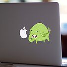 Mac Sticker - How's That Apple? - Tree Trunks by Alex Clark