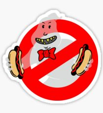 No Floating Hot Dogs Sticker