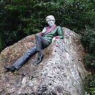 Oscar Wilde in Merrion Square by Margaret Zita Coughlan