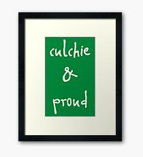 Culchie & Proud Framed Print