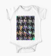 hologram houndstooth Kids Clothes