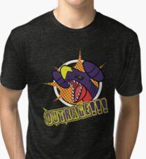 Garchomp's Outrage Tri-blend T-Shirt