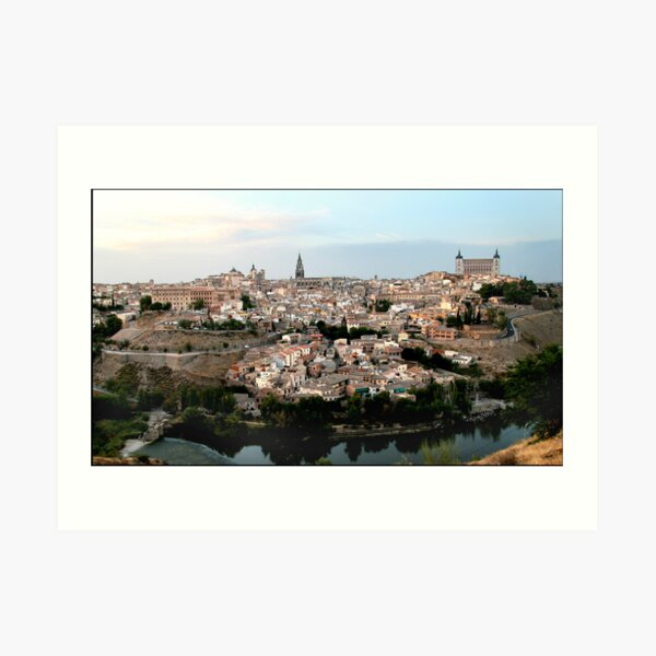 The Spanish City of Toledo Art Print