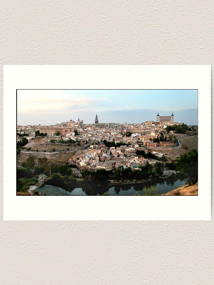 Alternate view of The Spanish City of Toledo Art Print