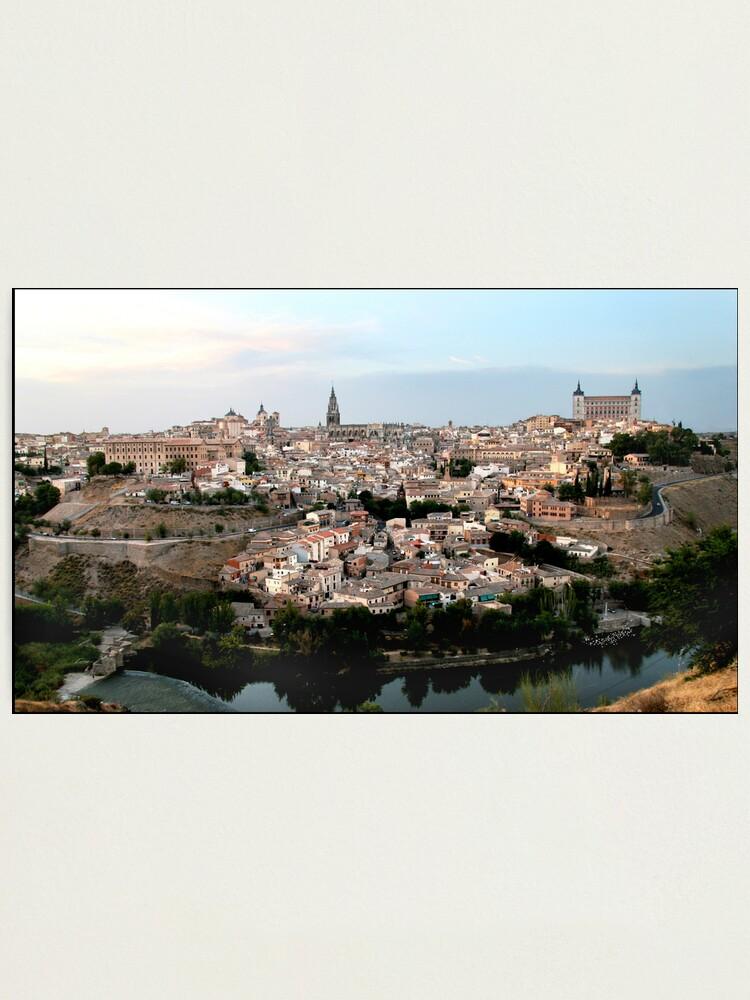 Alternate view of The Spanish City of Toledo Photographic Print