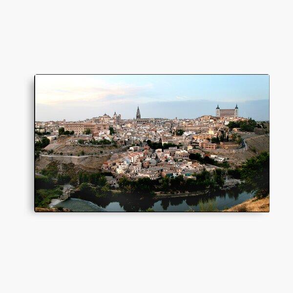 The Spanish City of Toledo Canvas Print