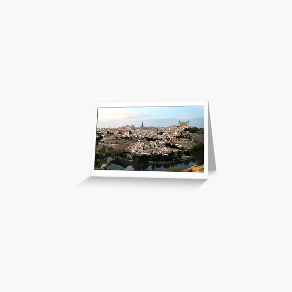 The Spanish City of Toledo Greeting Card