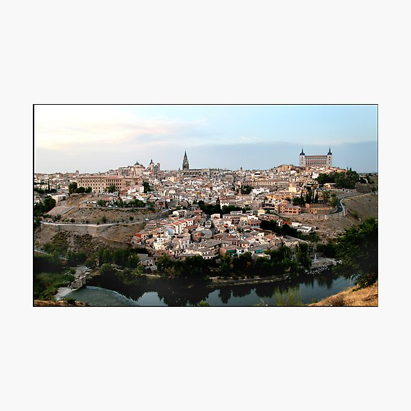 The Spanish City of Toledo Photographic Print