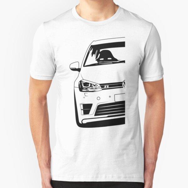 Golf Mk7 R Best Shirt Design Slim Fit T-Shirt