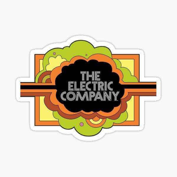 Electric Company Sticker