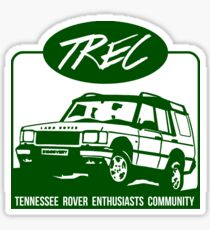 T.R.E.C - Tennessee Rover Enthusiasts Community Sticker