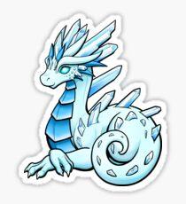 Ice Crystal Dragon Sticker
