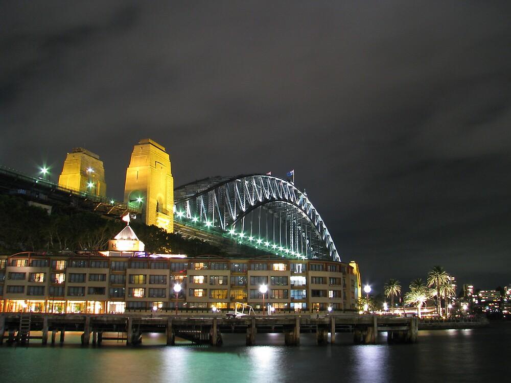 Sydney Icon at night by chrisd201