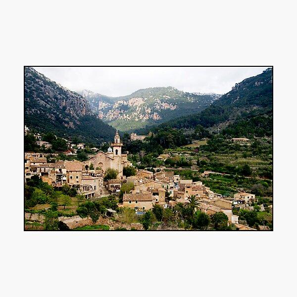 Spanish town of Valdemossa in Mallorca Photographic Print
