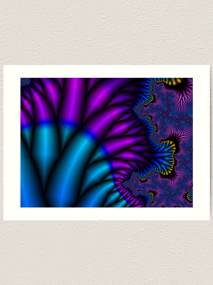 Alternate view of Peacock Feathers Art Print