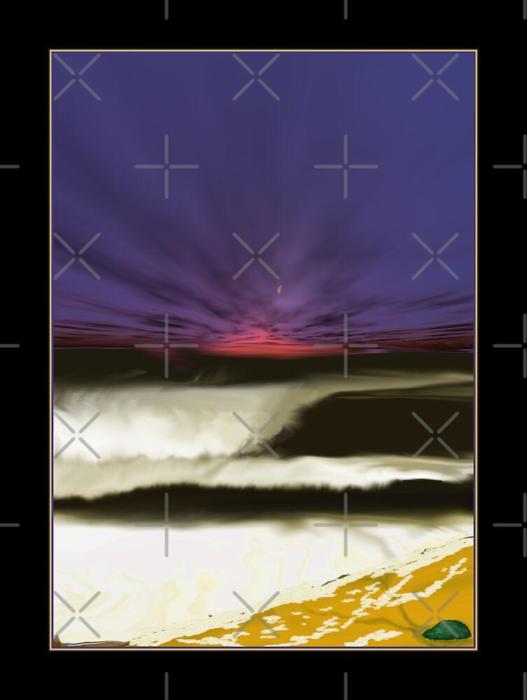 Night sea by Trevor  Herbert