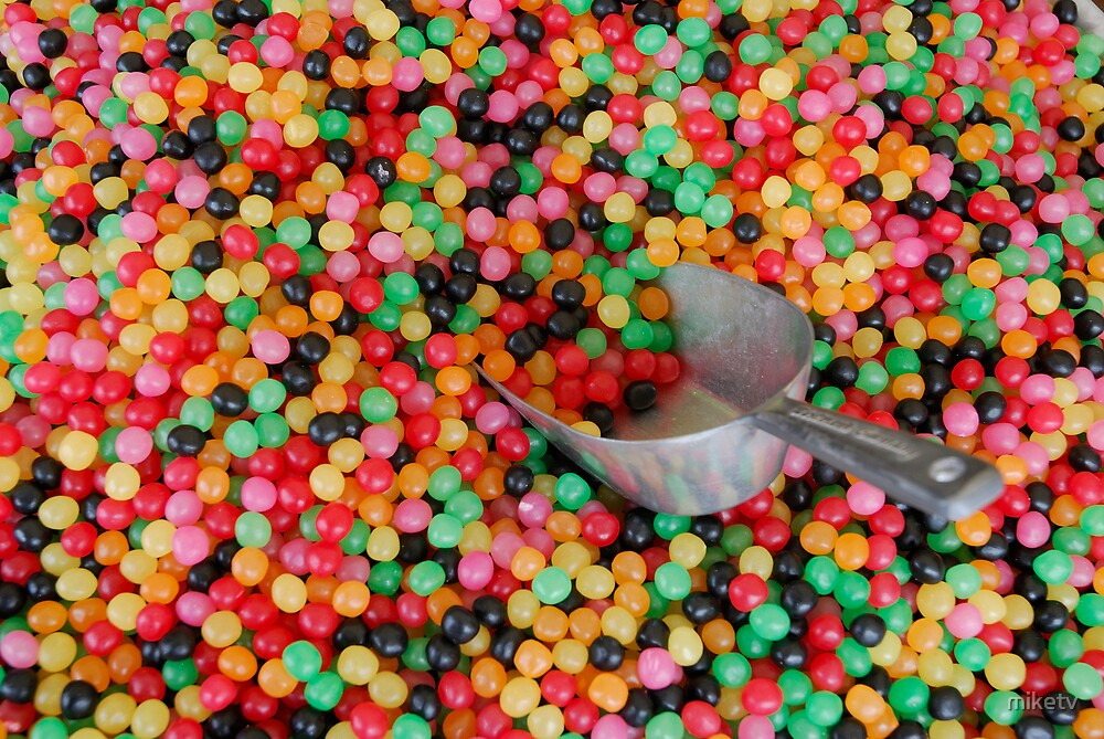 Jelly bean heaven by miketv