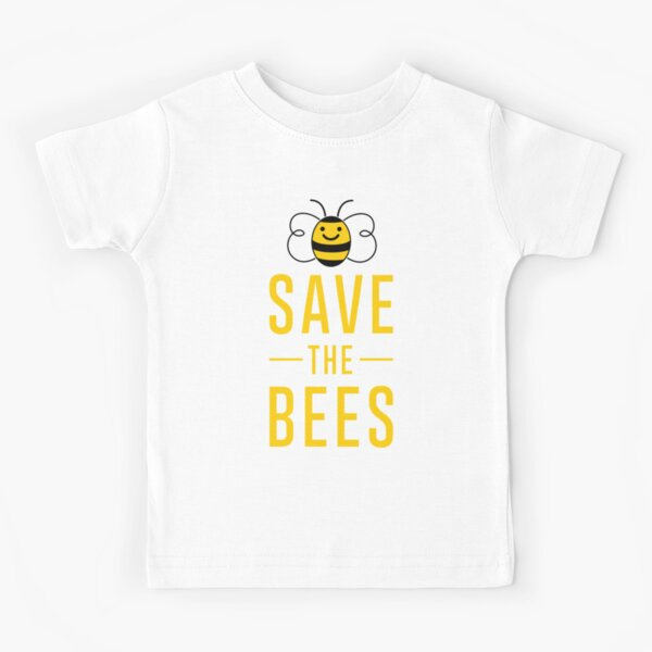 Save the Bees ~  Kids T-Shirt
