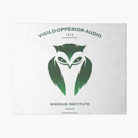 Vigilo Operior Audio Art Board Print