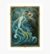 Elemental of Water & Choice Art Print
