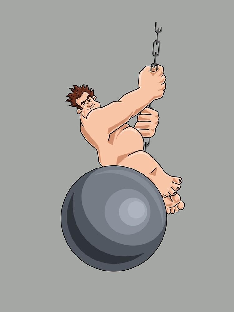 Wreck-It-Ball Ralph by Original151