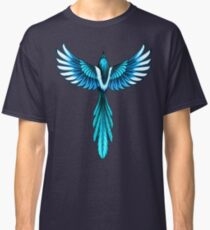 Magpie Bird in Flight Classic T-Shirt