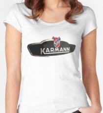 Volkswagen Karmann Ghia Badge Women's Fitted Scoop T-Shirt