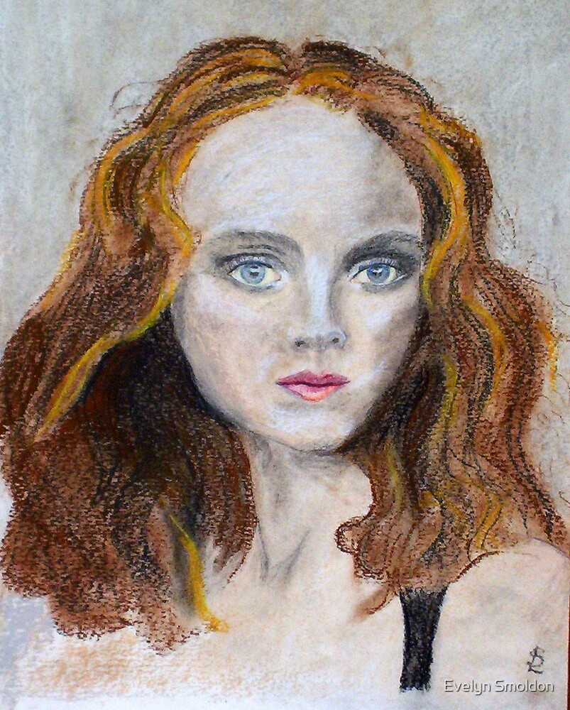 Lily Cole by Evelyn Smoldon