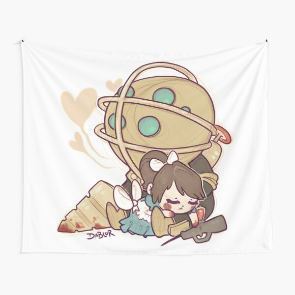 Little Sister Nap Time Tapestry