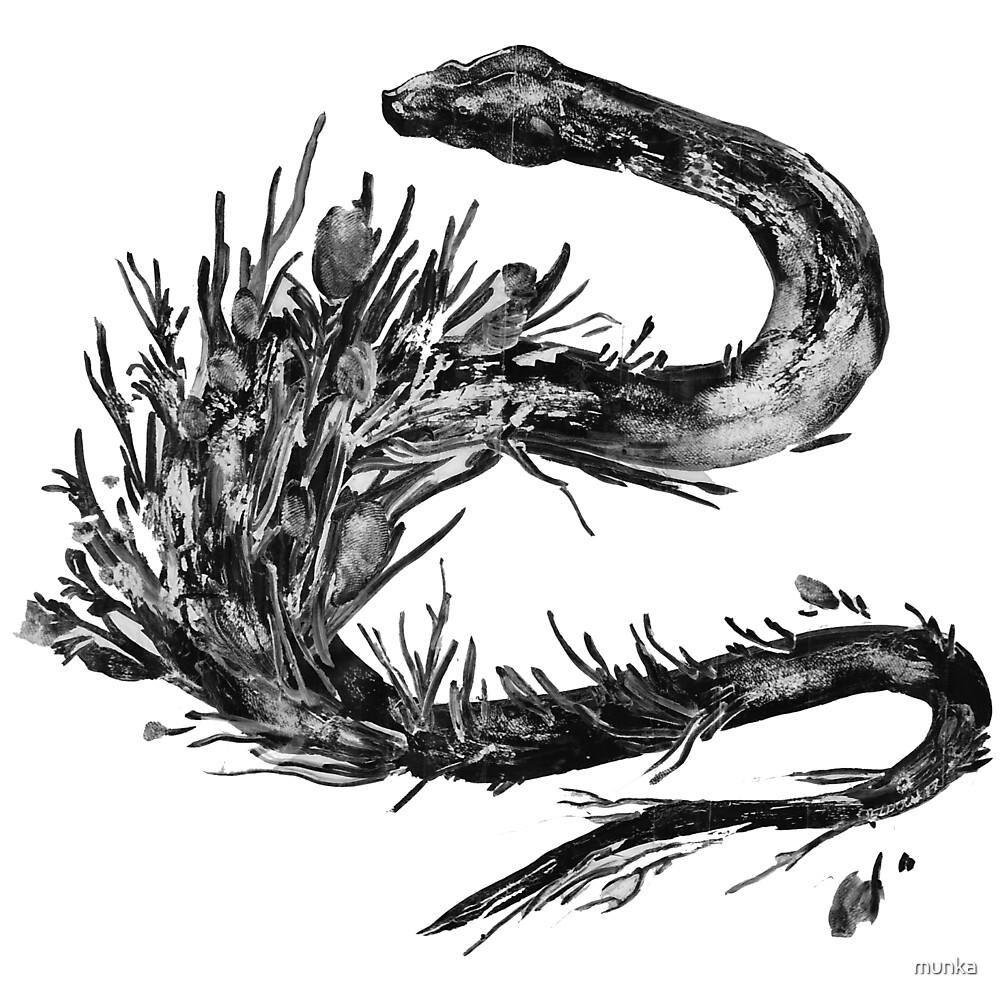 The Snake's Garden by munka
