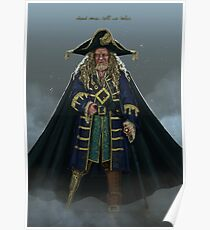 Hector Barbossa Posters Redbubble