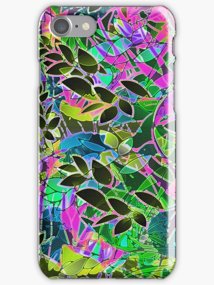 Floral Abstract Artwork by MEDUSA GraphicART