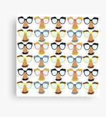 Goofy Glasses Canvas Print