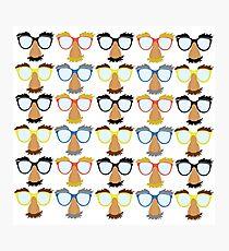 Goofy Glasses Photographic Print