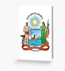 Bahia, Brazil Greeting Card