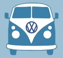 VW Camper T Shirt (blue)