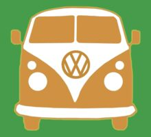 VW Camper T Shirt (orange)