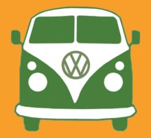 VW Camper T Shirt (green)