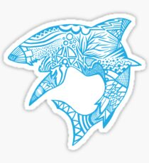 Shark_bites Sticker