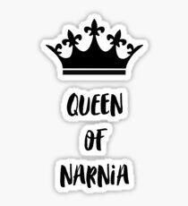 Pegatina Reina de narnia