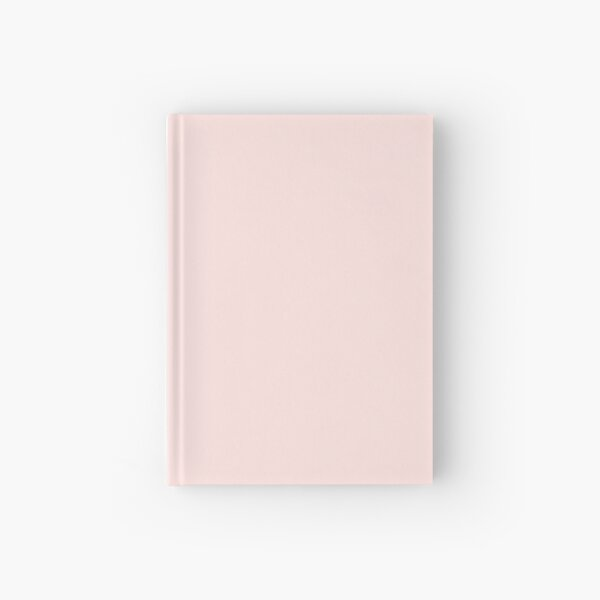 BEAUTIFUL COLORS - PLAIN MISTY ROSE - OVER 80 SHADES OF PINK AT OZCUSHIONS Hardcover Journal