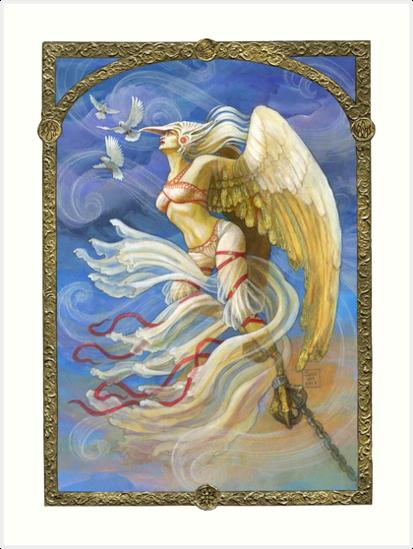 Elemental of Air & Freedom by BohemianWeasel