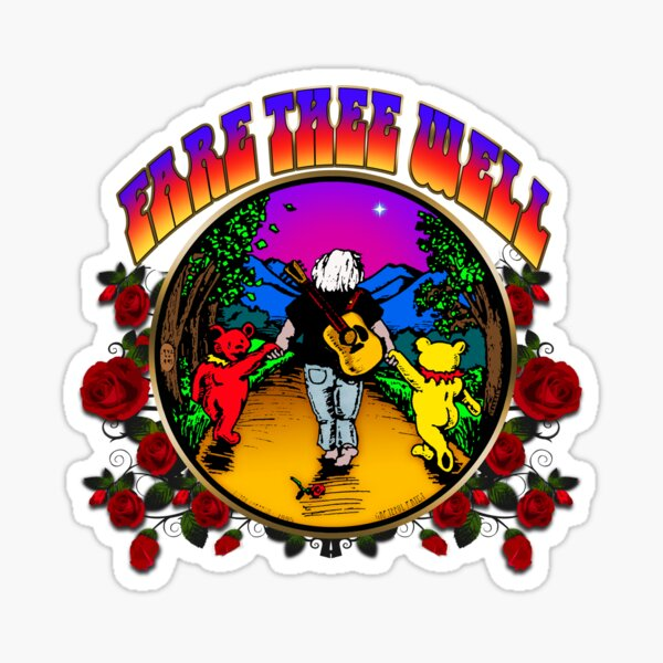 FARE THEE WELL - ROSES Sticker