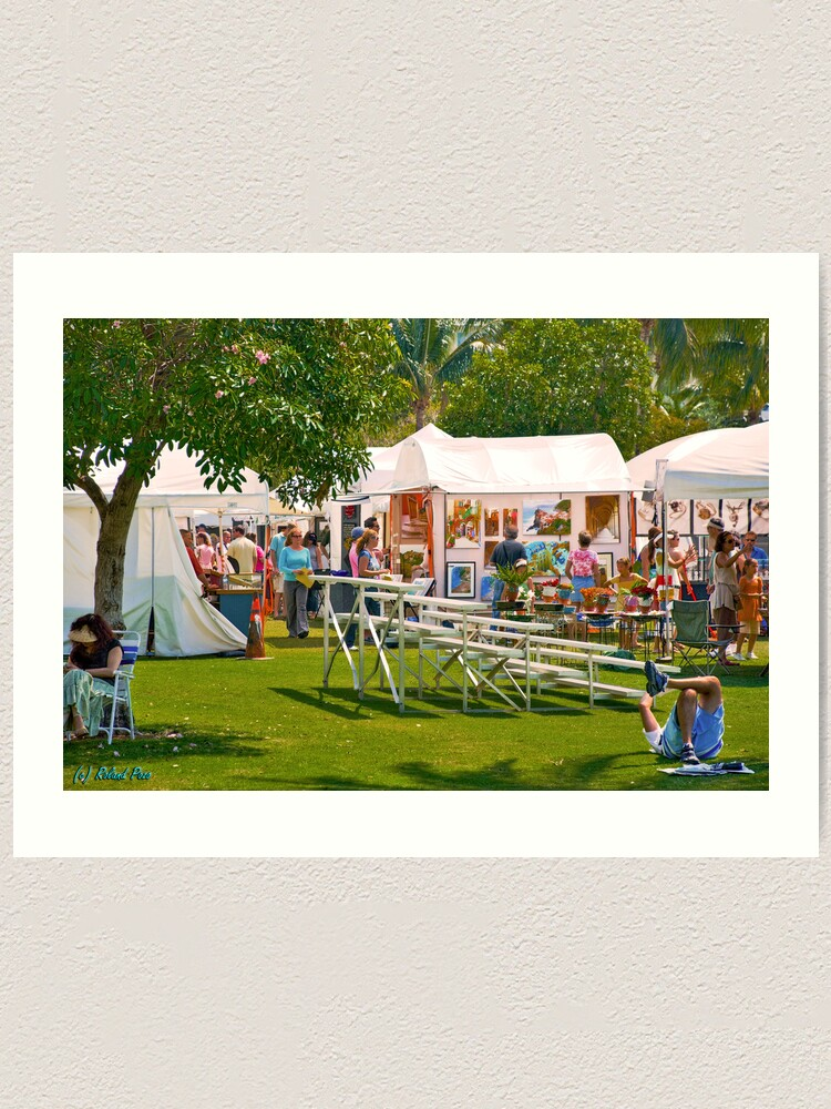 Alternate view of Key Biscayne Art Festival Art Print
