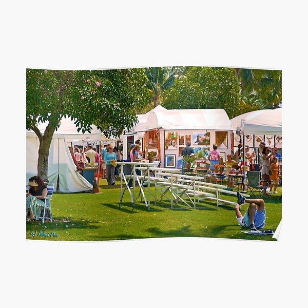 Key Biscayne Art Festival Poster
