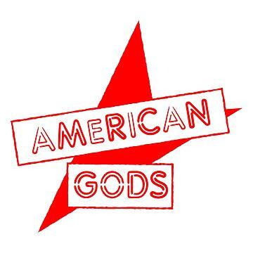 AMERICAN GODS by pixeldale