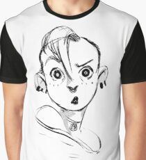 Chica punk Graphic T-Shirt